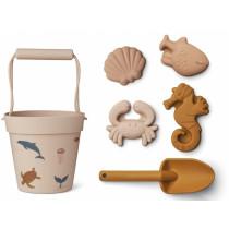 LIEWOOD Dante Sandspielzeug SEA CREATURES Rose Multi Mix