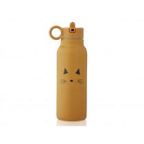 LIEWOOD Wasserflasche 350ml FALK Cat mustard