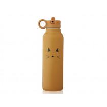 LIEWOOD Wasserflasche 500ml FALK Katze mustard