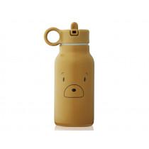 LIEWOOD Wasserflasche 250ml FALK Bär golden caramel