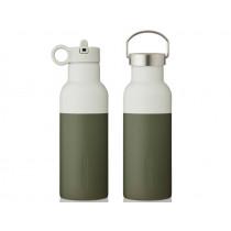 LIEWOOD Wasserflasche Neo hunter green/dove blue mix