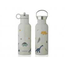 LIEWOOD Wasserflasche NEO Dino Dove Blue Mix