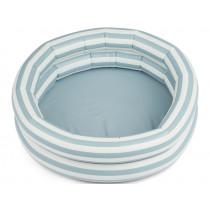 LIEWOOD Planschbecken LEONORE Stripes Sea Blue / Creme de la Creme