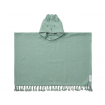 LIEWOOD Poncho OTIS Hase Peppermint (3-4)