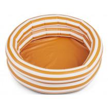 LIEWOOD Planschbecken LEONORE Stripes Mustard / Creme de la Creme