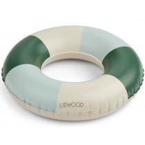 LIEWOOD Schwimmring BALOO Stripes Garden Green/Sandy/Dove Blue