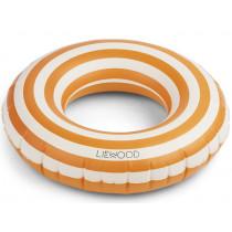 LIEWOOD Schwimmring BALOO Stripes Mustard/Creme de la Creme