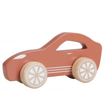 Little Dutch Holzauto SPORTWAGEN rostrot