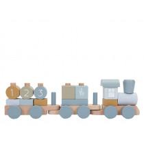 Little Dutch Holz-Eisenbahn mit Steck-Formen OCEAN