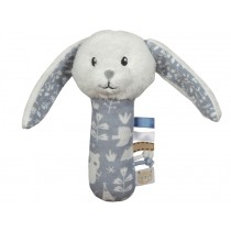 Little Dutch Greifling Rassel HASE blau