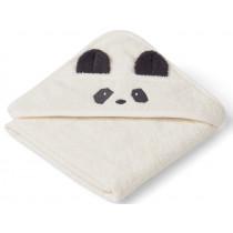 LIEWOOD Kapuzenhandtuch Baby Albert PANDA creme