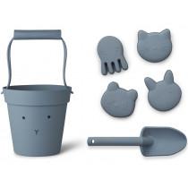 LIEWOOD Dante Sand-Spielzeug HASE dunstblau