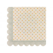 Maileg 16 Servietten MULTI DOTS