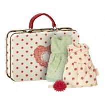 Maileg Koffer mit 2 Kleidern