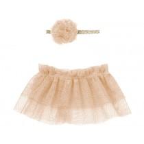 Maileg Puppenkleid TUTU & HAARBAND für Mini rosa