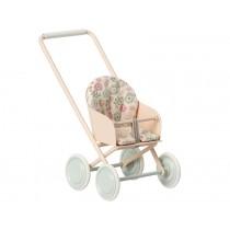 Maileg Puppen-Kinderwagen Micro rosa