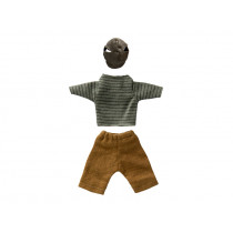 Maileg Puppenkleidung für Papa Maus STREIFEN