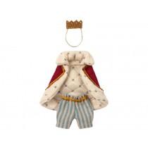 Maileg Puppenkleidung für Papa Maus KÖNIG