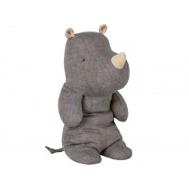 Maileg Nashorn Safari Friends RHINO medium blau