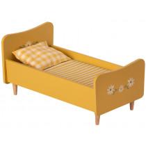 Maileg Puppenbett für HASE (Größe 1 & 2) gelb