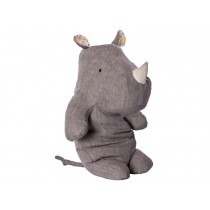 Maileg Nashorn Safari Friends RHINO grau medium
