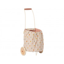 Maileg Puppen Trolley MULTI DOTS rosa