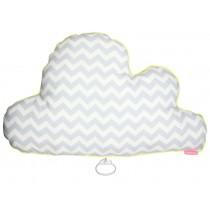Mellipou Spieluhr XL Wolke SUNDAY MORNING grau