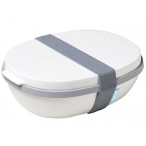 Mepal Lunchbox ELLIPSE DUO weiß