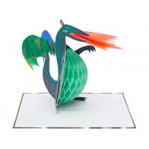 Meri Meri 3D-Grußkarte DRACHE