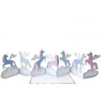 Meri Meri 3D-Grußkarte PEGASUS EINHORN