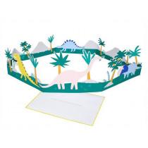 Meri Meri 3D-Grußkarte DINOSAURIER Birthday