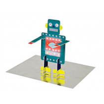Meri Meri 3D-Grußkarte ROBOTER Happy Birthday