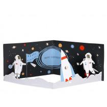 Meri Meri 3D-Grußkarte WELTRAUM Happy Birthday