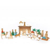 Meri Meri Adventskalender KRIPPE aus Holz