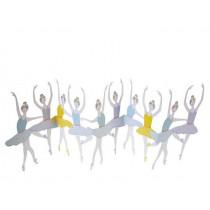 Meri Meri 3D-Grußkarte BALLERINAS Happy Birthday