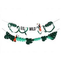 Meri Meri Große Girlande DSCHUNGEL Go Wild