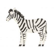 Meri Meri 20 Servietten SAFARI Zebra