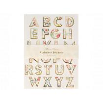 Meri Meri 260 Sticker ALPHABET English Garden