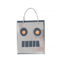 Meri Meri Party Bags Geschenktüten WELTRAUM ROBOTER