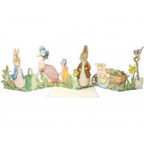 Meri Meri 3D-Grußkarte PETER HASE