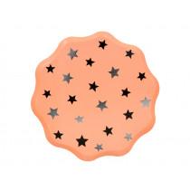 Meri Meri 8 Pappteller PASTEL HALLOWEEN Sterne