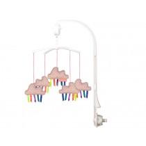 Mellipou Mobile mit Spieluhr Wolken Amy Rose PARADISE alrosa