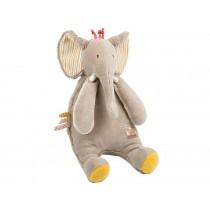 Moulin Roty Plüschtier Elefant les Papoum
