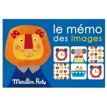 Moulin Roty Memospiel Tiere