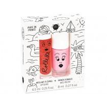 nailmatic kids Lipgloss + Nagellack Set HOLIDAYS