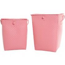 Overbeck & Friends Wäschekorb Pastell pink