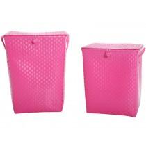 Overbeck Wäschekorb pink