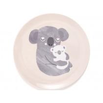 Petit Monkey Melaminteller KOALA rosa