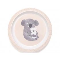 Petit Monkey Melaminteller mit Rand KOALA rosa