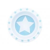 Pimpalou Anti-Rutsch Schale STERN hellblau